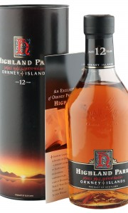 Highland Park 12 Year Old, Nineties 70CL Bottling with Tube